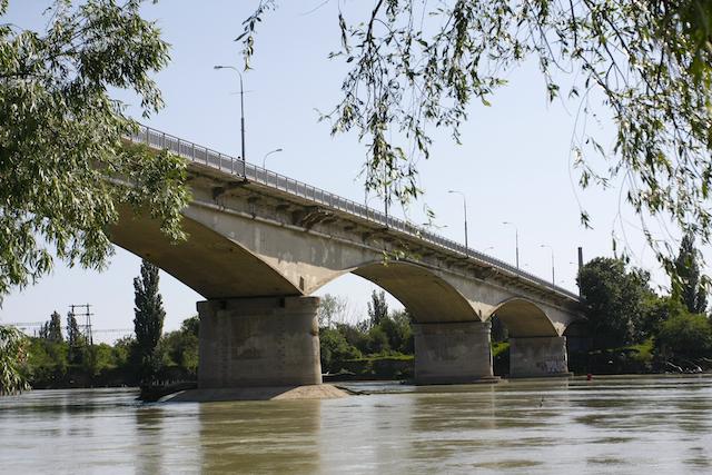 Мост через р. Кубань